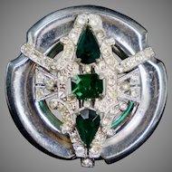 Art Deco Signed McClelland Barclay Pin