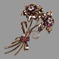 Gorgeous Pennino Rose Gold Vermeil Pin