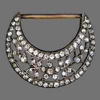 Art Deco Buckle Ornament Pendant - Looks Real