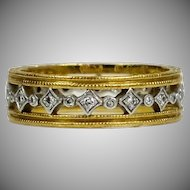 Cathy Waterman Diamond Eternity Band Ring