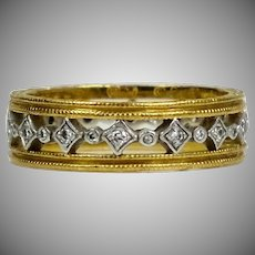 Cathy Waterman Diamond Eternity Band Ring