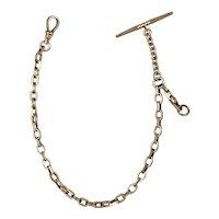 Victorian Rose Gold Watch Chain