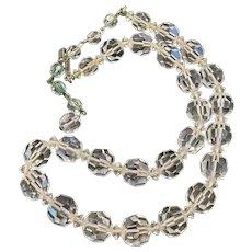 Vintage necklace Austrian Crystal