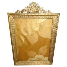 Gilt Bronze Picture Frame Vintage 1920 French