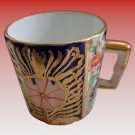SALE 50% OFF Tiny English Imari Cup 1800