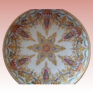 50% OFF Exceptional Royal Vienna Style Gilt Porcelain Plate