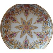 Exceptional Royal Vienna Style Gilt Porcelain Plate