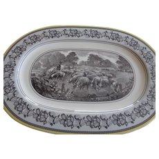 "Vintage Villeroy & Boch Platter ""Audun Ferme"" Pattern"