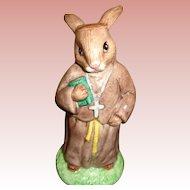 Vintage Bunnykins Figure as Friar Tuck