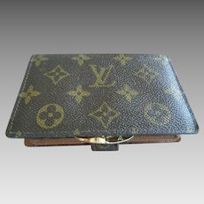 Authenic Vintage Louis Vuitton Wallet with Change Purse