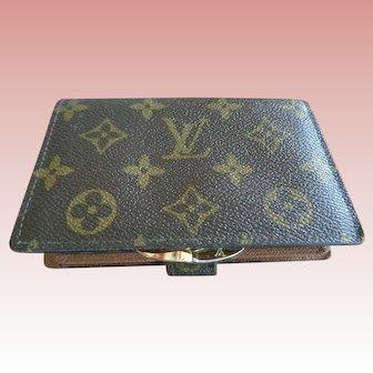 Authenic Vintage Louis Vuitton Wallet with Change Purse