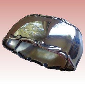 Elegant Continental French Silver Napkin Ring