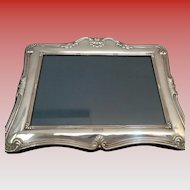 Lovely English Vintage Sterling Picture Frame Hallmarked
