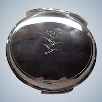 SALE $100 OFF Vintage George Jensen Sterling Compact by Harald Nielsen 1930