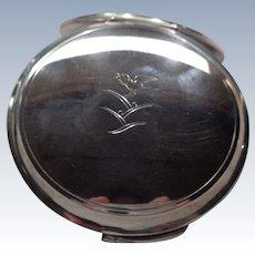 SALE $100 OFF Vintage George Jensen Sterling Compact by Harald Nielsen 1930