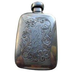Sterling Silver Purse Perfume Bottle