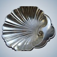 SALE 50% OFF Gorham Sterling Silver Shell Dish