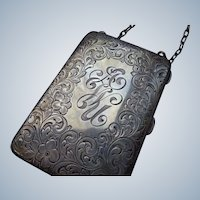 Sterling Silver Ladies Vanity Case 1920-30