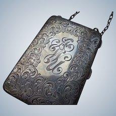 Sterling Silver Ladies Vanity Case 1920-30