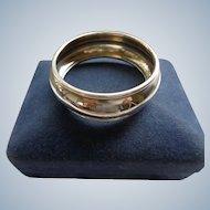 English Sterling Napkin Ring No Initials Boxed
