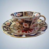Vintage Royal Crown Derby Cup & Saucer 1950-60
