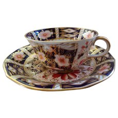 Vintage Royal Crown Derby Cup & Saucer 1950-60