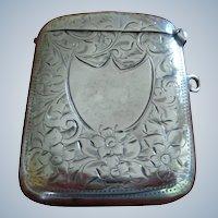 Antique English Vesta (Match Safe) 1905