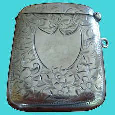Antique English Vesta (Match Safe) 1905