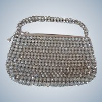 Flapper Handbag Studded with Rhinestones 1920