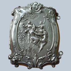 Magnificent Art Nouveau Sterling Cigarette/Card Case