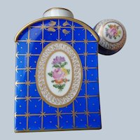 Dresden Porcelain Tea Caddy/Potpourri Bottle