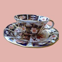 Royal Crown Derby Cup and Saucer Pattern 2431