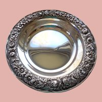 Kirk Repousse Candy or Wine Dish in Sterling