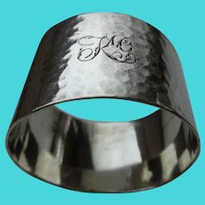 Antique Napkin Ring English Sterling 1903