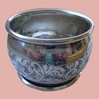 Antique Sterling Napkin Ring English 1910