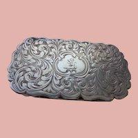 Antique Sterling Vinaigrette 1851 English Hallmarks