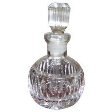 Vintage Waterford Crystal Perfume Bottle 1960