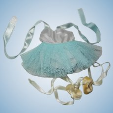 1950's Vogue Ginny Tagged Aqua Ballet Tutu Outfit