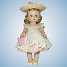 1950's Adorable Alexander-kins Strung Doll in Original Clothes and Extras