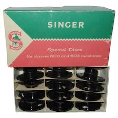 12 Special Fashion Discs in Box for Singer Touch & Sew 600 Series Machines