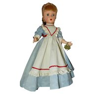 "Gorgeous AO Madame Alexander 14"" MEG from the Early 1950's Little Women Series"