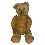 "20"" Very Loved Sweet Plush Fully Jointed Bear With Excelsior Stuffing"