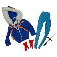 1963 Mattel Barbie #948 Ski Queen Outfit