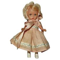 "Wonderful 1950's 4 1/2"" Nancy Ann StoryBook Doll #71 ""First Birthday"" - Red Tag Sale Item"
