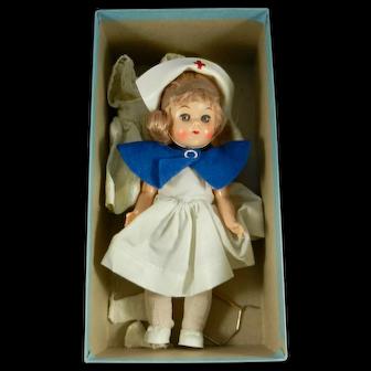 "Mid 1950's Virga Play Mates ""Nurse"" Doll in Correct Original Box"