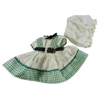 """Vogue Dolls Ginny #27 """"Hope"""" Outfit from the 1953 Kindergarten School Series"""