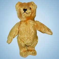 "Fantastic 9"" Gold Steiff Teddy Bear with Tag and RS Button"