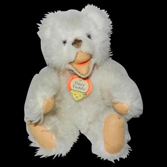 "Steiff 8"" Cosy Teddy White Zotty Teddy Bear"
