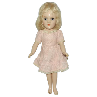 """1940's 14"""" Mary Hoyer Composition Doll"""
