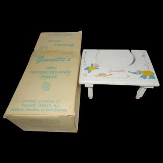1955 Vogue Ginnette Tender is Original Box
